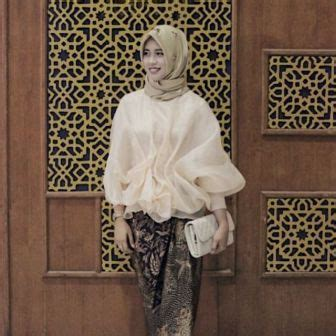 Batik Modern Organza model kebaya organza untuk berbagai event kalangan usia