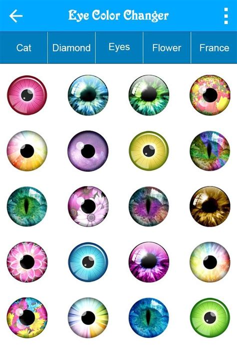 app that changes eye color eye color changer android apps on play