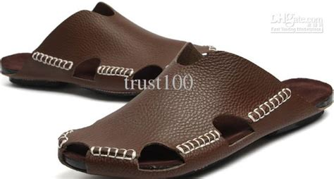 popular mens slippers newest popular mens slippers genuine leather s sandals