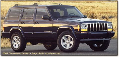 Gas Mileage 2001 Jeep Grand Jeep The Best Of Breed Suv 1975 2001