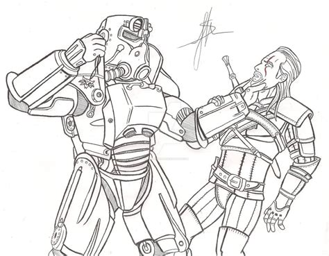 Fallout 4 Coloring Pages by Coloring Pages Suger S Fallout 4 Coloring Best Free