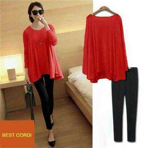 Baju Blouse Atasan Atasan Wanita Baju Merah setelan baju atasan blouse wanita vince terbaru murah