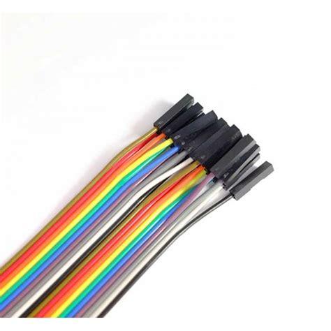 Kabel Jumper 20cm 40pin Ff Mf Mm jual kabel jumper dupont to