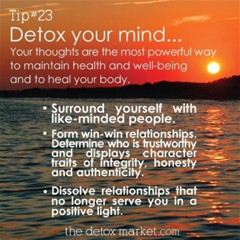 Detox Your Mind And by Detox Your Mind Quotes Quotesgram