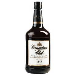 canada house whiskey canadian club premium aged blended canadian whiskey