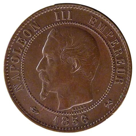 20435 second empire 10 centimes napol 233 on iii ttb 10