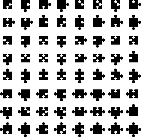 design of font crossword clue free vector graphic jigsaw puzzle pieces game free