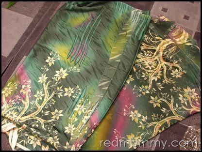 Kain Sifon Pink And Yellow kain ela tudung and shawl pencinta merah lover