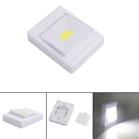 led closet light battery operated mini cob led wall switch light for closet magnetic