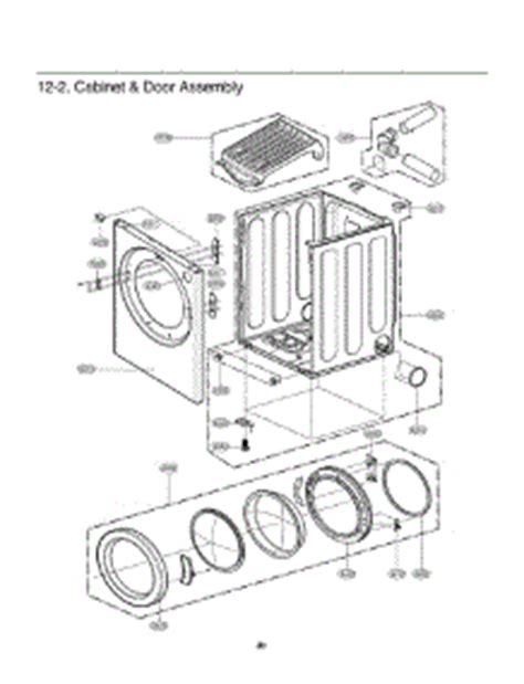 lg dryer parts diagram parts for lg dlg0452w abweeus dryer appliancepartspros