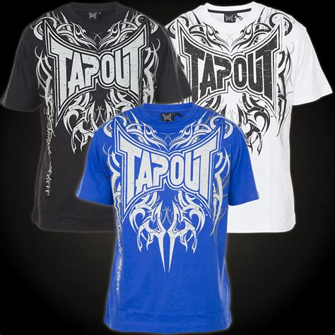 Tap Out Darkside Shirt Black tapout t shirt darkside ii t shirt with a large print