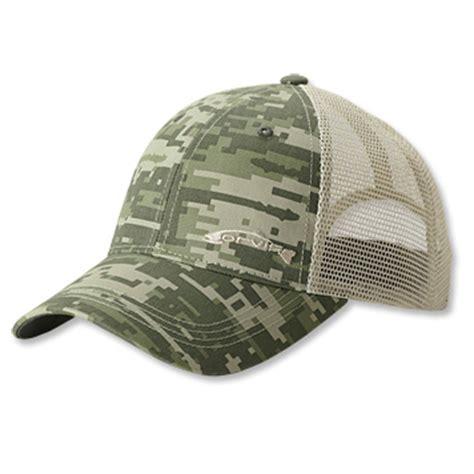 camo fishing hat digi camo trucker hat orvis