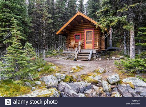Cabins Bc by Cabin Lake O Hara Yoho National Park Columbia Canada Stock Photo Royalty Free Image