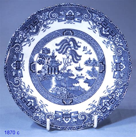 plate patterns wedgwood co willow pattern vintage china dinner plate