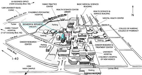 unm map visit us unm department of neurology the of new mexico