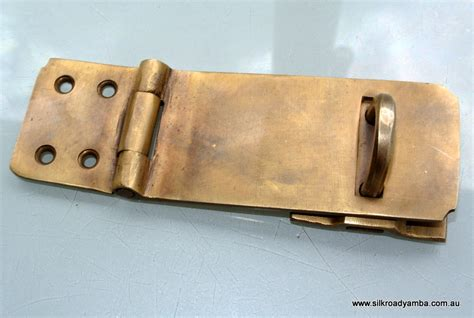 Door Hasp by Padlock Latch Vintage Antique Style House Box Catch Hasp