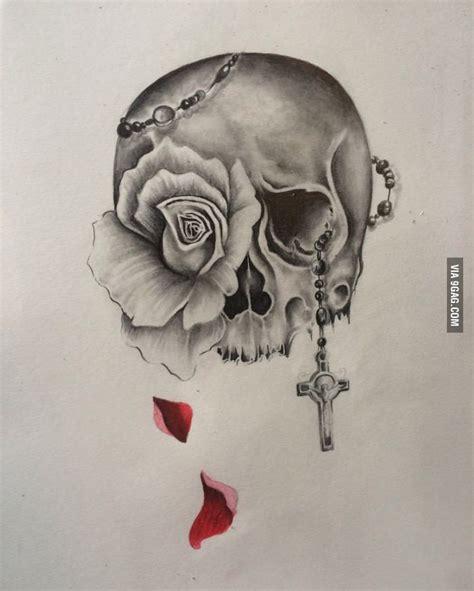 skull and design tattoos