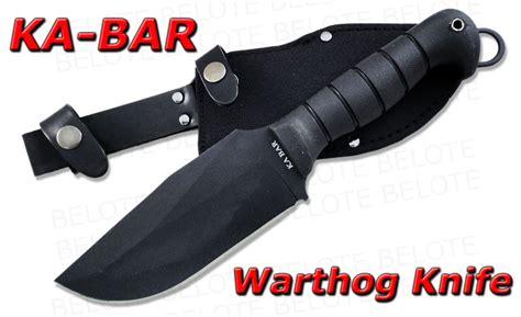 ka bar warthog ka bar heavy duty warthog fixed blade w sheath 1278 ebay