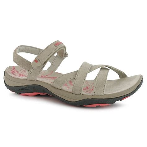 outdoor sandals c karrimor womens salina leather ladies outdoor sandals