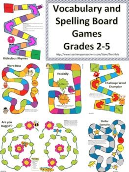 printable board games for spelling vocabulary and spelling board games for engaged spelling