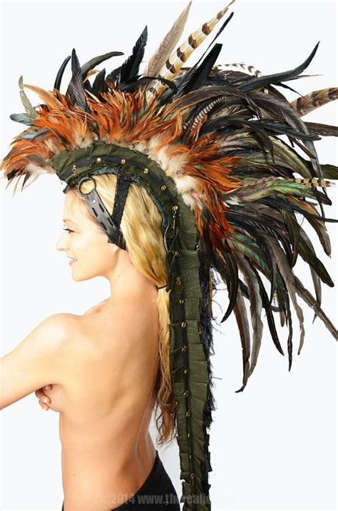 african men headdress how to make feather mohawk google search bm projects