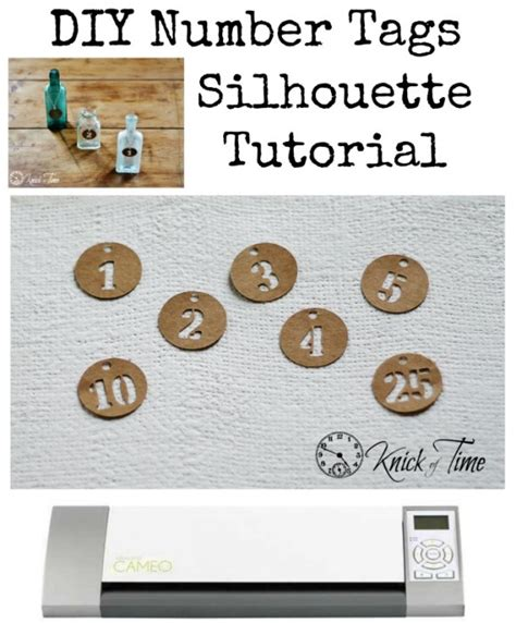 tutorial html tags numbered tags silhouette tutorial knick of time
