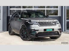 Range Rover Velar – Satin black – Youtuber GIO – JD Customs Range Rover