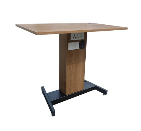 adjustable height sit stand table desk workstation