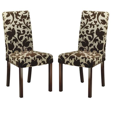 stanton tan floral print dining chairs set of 2 great safavieh parsons floral print dining chair set of 2