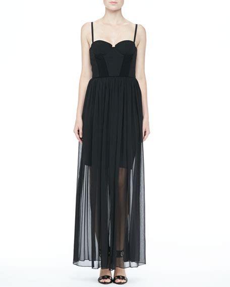 Maxi Syakira shakira bustier maxi dress