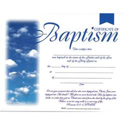 free printable baptism certificates templates baptism certificate package of 6 clouds romans 6 3 4