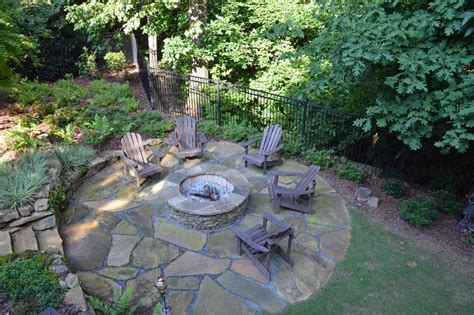 nh landscape fire pit 15 creative ways to use pavers outdoors hgtv s decorating design hgtv