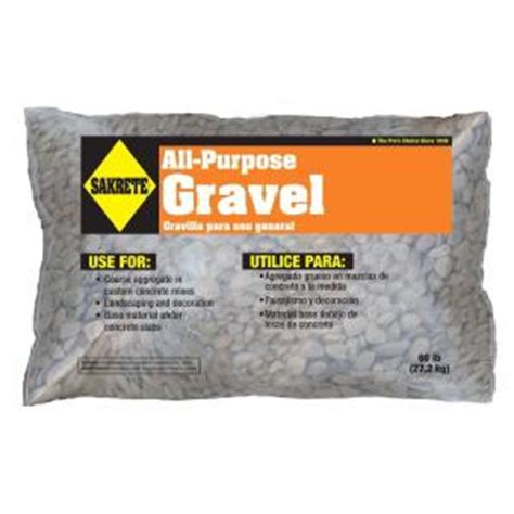 sakrete all purpose 60 lb gravel 40200302 the home depot