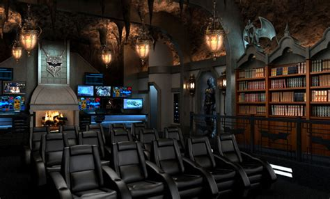 home design theme home theater design batman themed home design