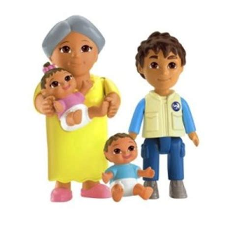 dora and friends doll house dora explorer dollhouse twins figures abuela playtime together family friends ebay