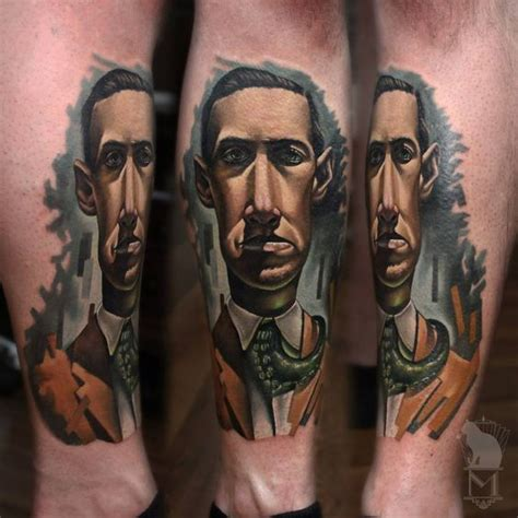 lovecraft tattoo lovecraft writers stuff tattoos