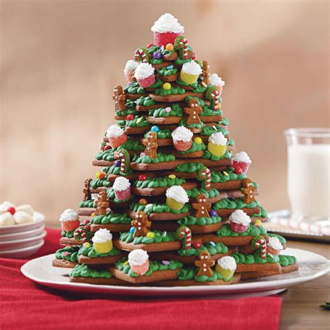 how to make cookie christmas tree cake for kids how to make 3d tree cookies beesdiy