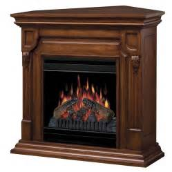 shop dimplex 36 75 in w 5 120 btu burnished walnut wood