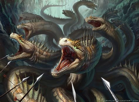 hydra by arvalis on deviantart