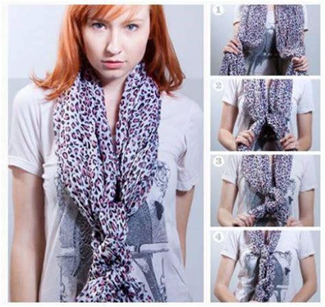 nudos de bufanda formas de usar una bufanda pinterest nudo en estas