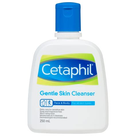 buy gentle skin cleanser 250 ml by cetaphil priceline