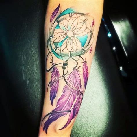 unique dreamcatcher tattoos 25 best ideas about dreamcatcher tattoos on
