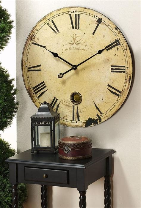 oversized home decor oversized clock what time is it pinterest
