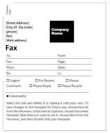 doc 717456 fax cover sheet template bizdoska