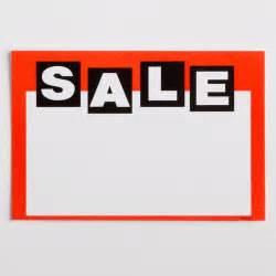 Price Tag Sale Paper Price Tags 50 Pcs A B Store Fixtures
