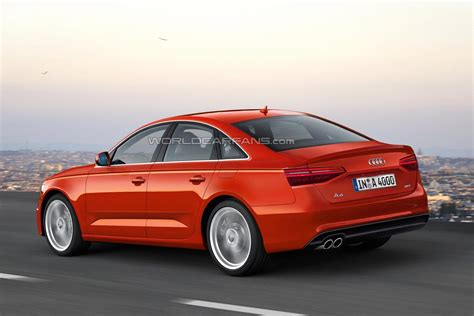 2016 audi a4 sedan 2016 audi a4 sedan and a4 avant rendered