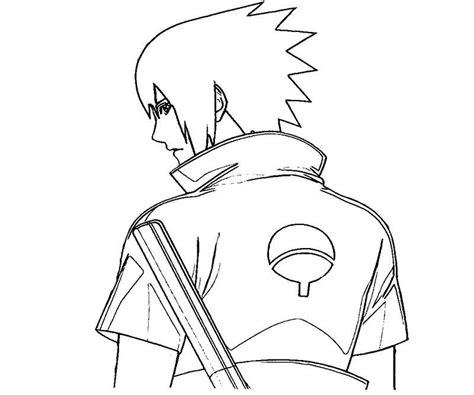 imagenes de sasuke y sakura para dibujar a lapiz naruto para colorear pintar e imprimir