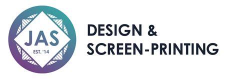 logo design for jas jas design screen printing studio cumberland rhode island