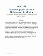 Image result for juvenile delinquency essays and term papers