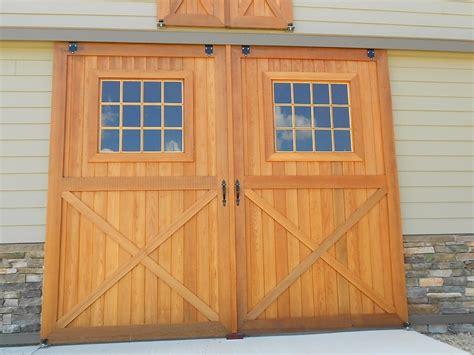 Custom Pleasure Barn Precise Buildings Cedar Barn Door